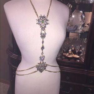 Accessories - FABULOUS GOLD TONE BODY CHAIN  THIS IS BRAND NEW